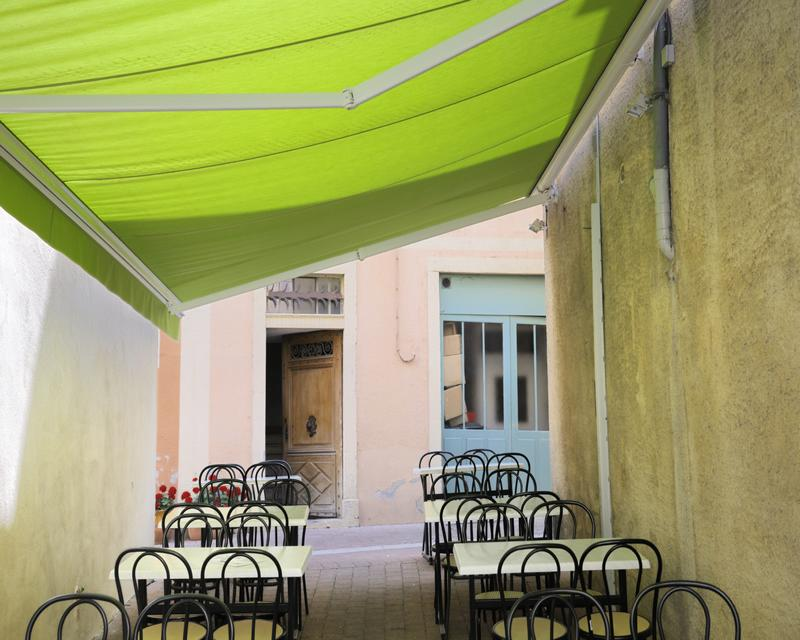 Canvas Folding Arm Awnings
