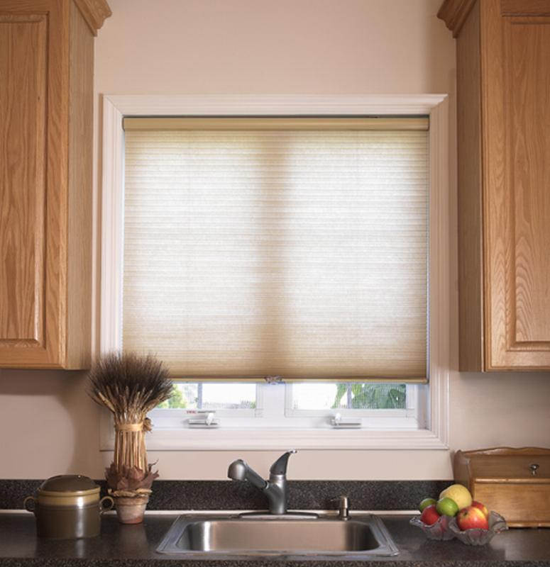 Cellular blinds abbey awnings blinds cellular blinds for Kitchen shades and blinds